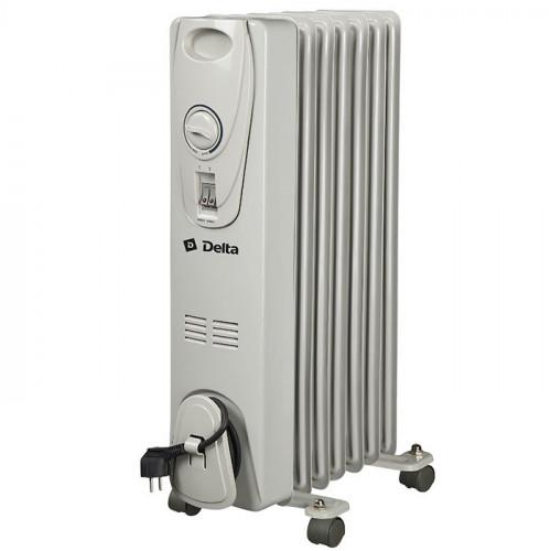 Масляный радиатор DELTA D25-7