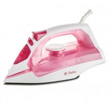 Утюг DELTA DL-755 бело-розовый