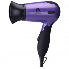 Фен ВАСИЛИСА ФН2-1400 черный с фиолетовым