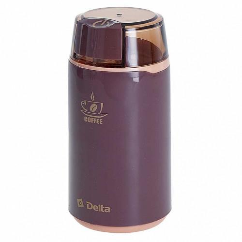 Кофемолка DELTA DL-087К коричневая