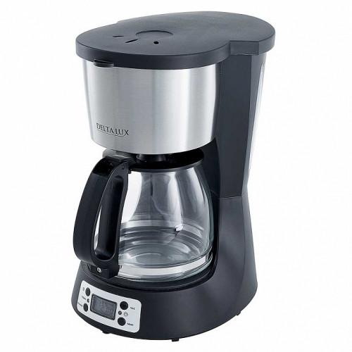 Кофеварка DELTA LUX DE-2000 черная