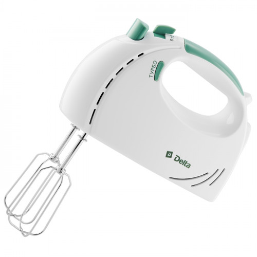 Миксер DELTA DL-5061 (белый/зеленый)