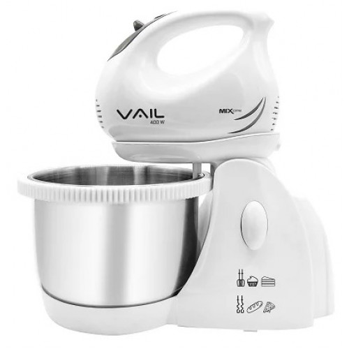 Миксер VAIL VL-5606 (серый) с чашей