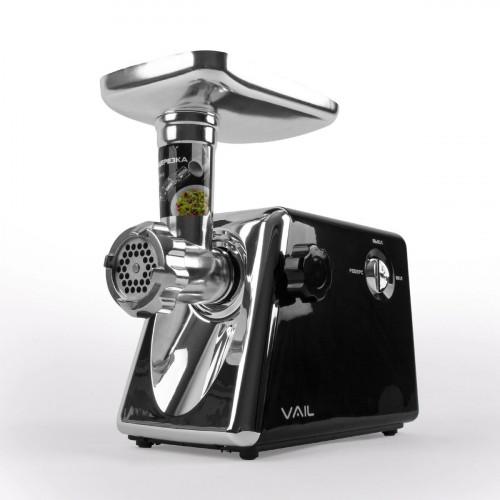 Мясорубка VAIL VL-5405 черная (кухонный комбайн)