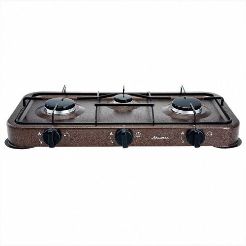 Газовая плита АКСИНЬЯ КС-107 коричневый