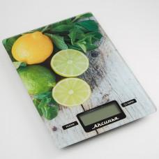 Весы кухонные Аксинья КС-6510 (Лайм)