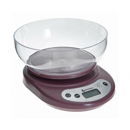 Весы кухонные ВАСИЛИСА ВА-010 коричневые