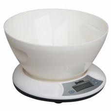 Весы настольные с чашей DELTA КСЕ-01 белые