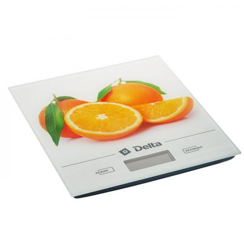 Весы кухонные DELTA КСЕ-28 (апельсин)