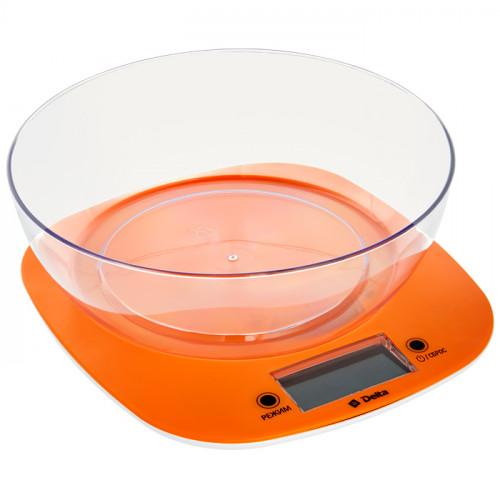 Весы настольные с чашей DELTA KCE-32 оранжевые