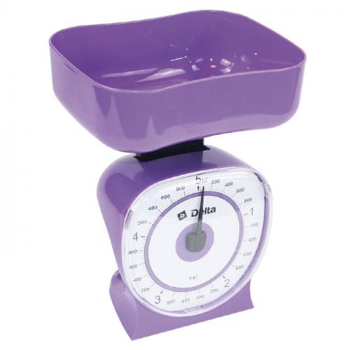 Весы настольные с чашей DELTA КСА-106 фиолетовый