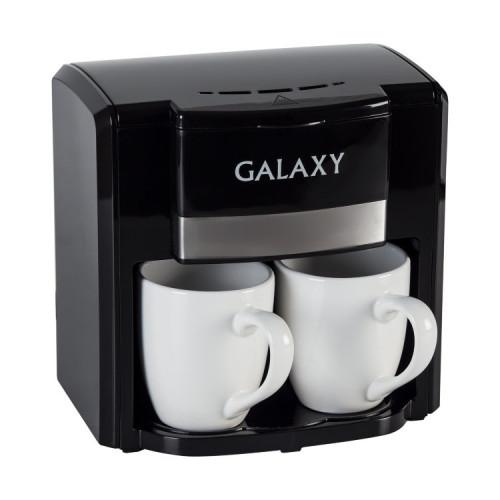 Кофеварка Galaxy GL 0708 (черный)