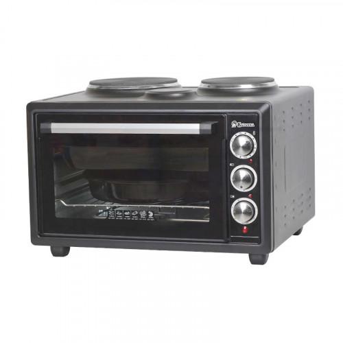Мини-печь Василиса ВС-2К39 (черный)