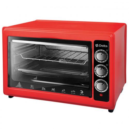 Мини-печь DELTA D-0123 (красный)