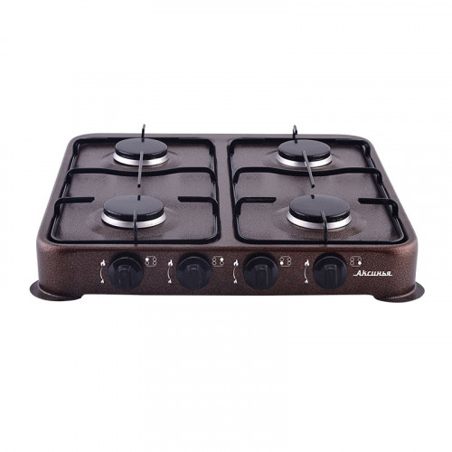 Газовая плита DELTA АКСИНЬЯ КС-104 (коричневая)